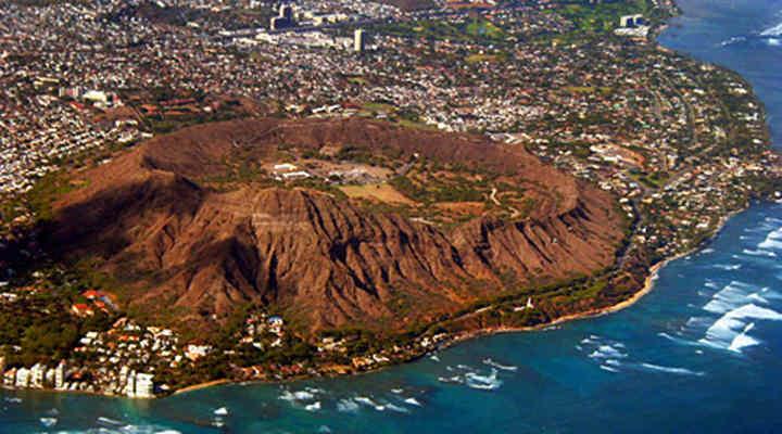 今日小环岛精华游;途经世界闻名的威基基海滩,夏威夷卡哈拉高级住宅区