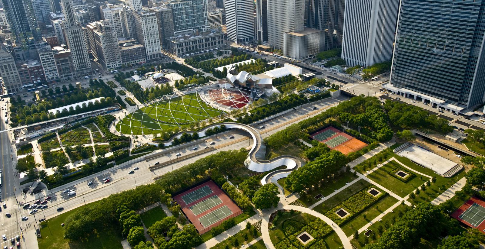 音乐公园景观设计平面图