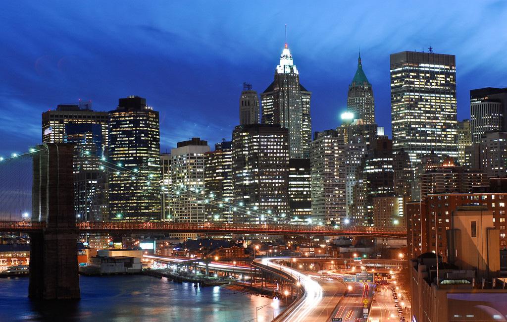 美国街区风景图片